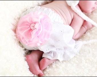 Ruffled Baby Bloomers