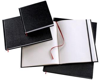 "Refill 5.5"" x 8.5"" Black sketchbook"