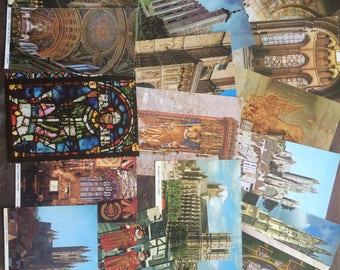 47 british postcards 1980s