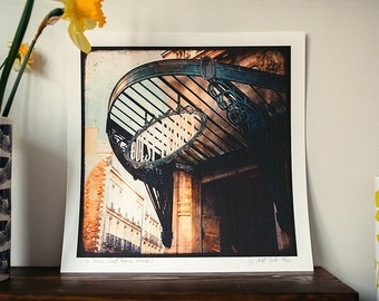 Entrance West France - Rennes - 30x30cm photo print - signed and numbered