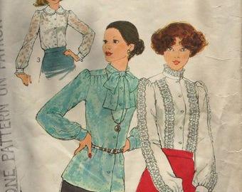 Dressy blouses Simplicity pattern