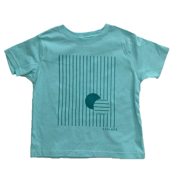 EXPLORE Toddler Tee - Mint