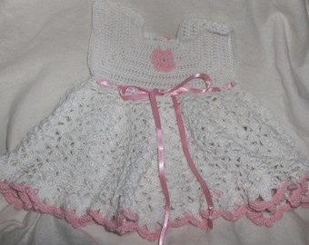 crochet dress, crochet summer dress, baby dress, babyshower dress, baby crochet