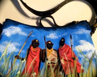 African Warrior bag