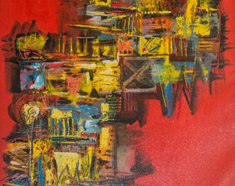 The Abstract Edge- Original Acrylic Painting