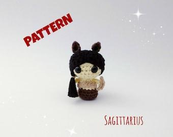 Amigurumi Sagittarius Doll Pattern, Crochet Doll Pattern, Amigurumi Doll Pattern, Crochet Amigurumi Doll Pattern, Amigurumi Patterns