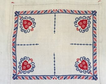 Embroidered Tablemat /Tablecloth Linen