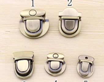 1 PCS, Bag Purse Closure / Turnlock Closure / Bag Purse Hardware