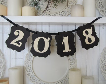 2018 Banner, Graduation, Graduation Photo Prop, New Years Eve Decoration, New Year Decor, High School Graduation, Senior Pictures