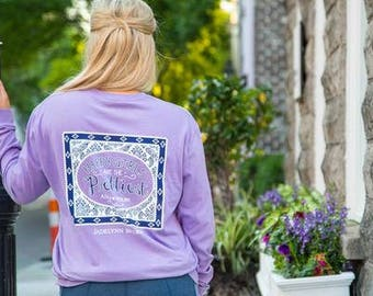Jadelynn Brooke Shirt-Happy Girls Are The Prettiest-Audrey Hepburn Shirt-Audrey Hepburn-Jadelynn Brooke Fall-Preppy Long Sleeve Shirt