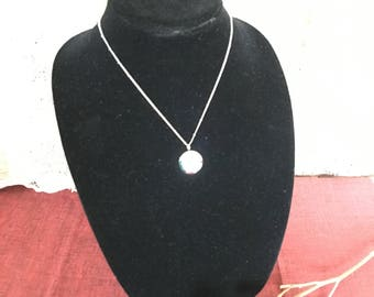 Display Bust Jewelry Display in Black Velveteen Surface. Black Bust Necklace Display.