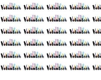 Volunteer Wordy Icons WI0054