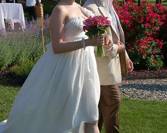 Sale - Handmade Weddings Ivory Pearl Bracelet