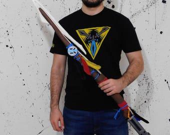 Aloy's spear Horizon Zero Dawn cosplay prop