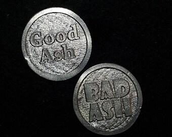 Good Ash/Bad Ash - Two sided decision maker