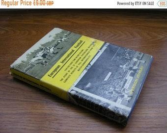 SALE Vintage book European International Football Gordon Jeffery 1963 Hardback 1st edition soccer book match summaries results in one volume