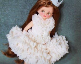 Snow - Dress For Middleblythe/Dorandoran/cacarote/Azone-XS/Micodoll/Holala
