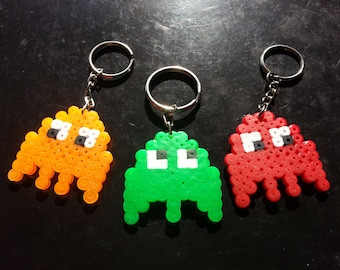 Pacman Ghosts Key Chains