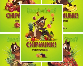 10 ct Chipmunk Freeze Dried Chips