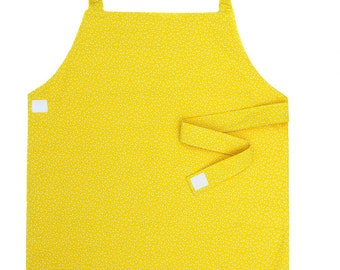 Yellow Apron - Toddler & Primary