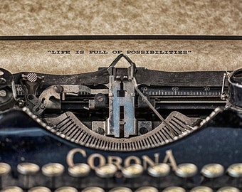 Corona Typewriter Photograph