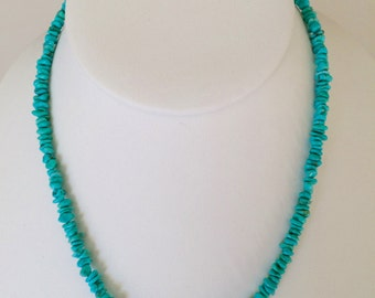 Morenci Turquoise Nugget Necklace