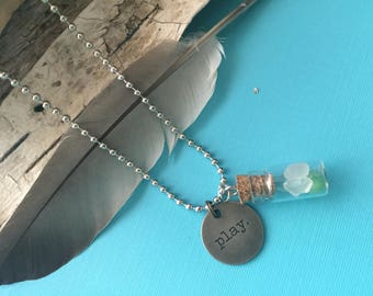 Sea Glass Play Necklace