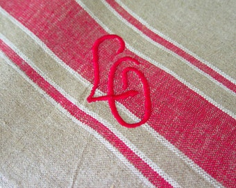 Manglecloth - Linen Table Runner with Monogram LG