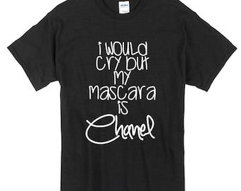Mascara is Chanel Tee