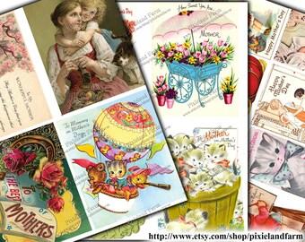 Mother's Day Vintage Printable Digital Download