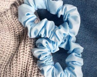 Sky Blue Scrunchie
