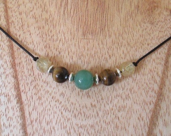 Abundance Gemstone Necklace