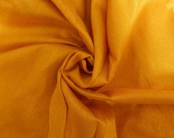 Silk Fabric, Dupioni Silk Fabric, Blend Silk Fabric, Art Silk Fabric, Yellow Dupioni Silk Fabric