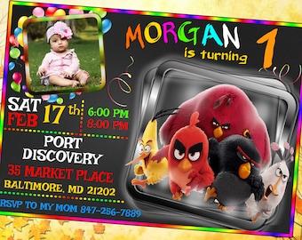 Angry Birds Birthday, Angry Birds Invitation, Angry Birds Party, Angry Birds Printables, Angry Birds Birthday Invitation, Angry Birds invite