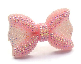 Pink Bow Ring - Pinup, Rockabilly, Retro