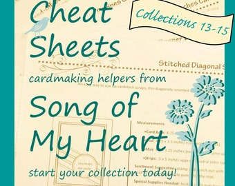 Cheat Sheets (13-15) Continuing Collection: Instant Digital Download