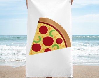 Funny Pizza Lover Towel Gift