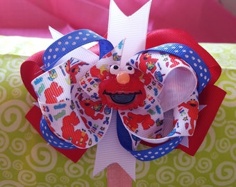 Sesame Street Elmo Hair Bow