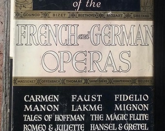 French German Operas vintage play book Librettos 1939 Crown Publishers New York