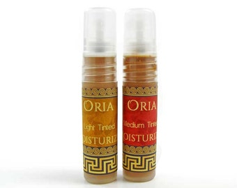 Tinted Moisturizer Sample by Oria, natural tinted moisturizer, mineral foundation, face moisturizer, face cream, face lotion, skincare