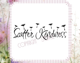 Scatter Kindness Religious Wall Decals
