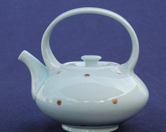 Porcelain Teapot with Gold Dots (T4)
