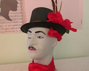 Dapper Dan , Flowering Heads, styrofoam mannequin head, entryway statue,unusual gift, art and accesorries