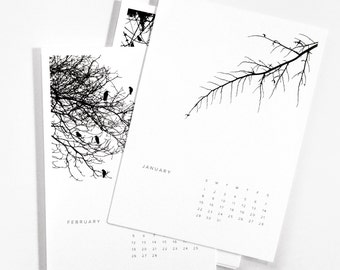 Rolling 12-Month Tree Calendar
