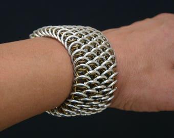 Handmade Dragon Scale Bracelet