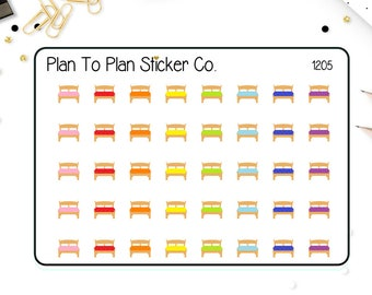 1205~~Bed Change The Sheets Planner Stickers.