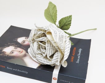 Jane Austen Collection: Sense and Sensibility Paper Rose
