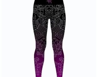 Yoga leggings - Interdimensional (Pink)