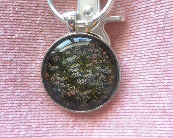 Lilac Fields Keychain