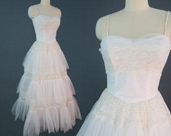 EMMA DOMB 1950s Princess Bride Formal Dress